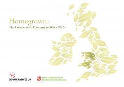 Co-ops in the Welsh Economy 2013