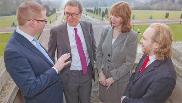 Stormont visit